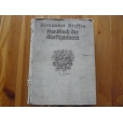 Handbuch der Marttgartneret